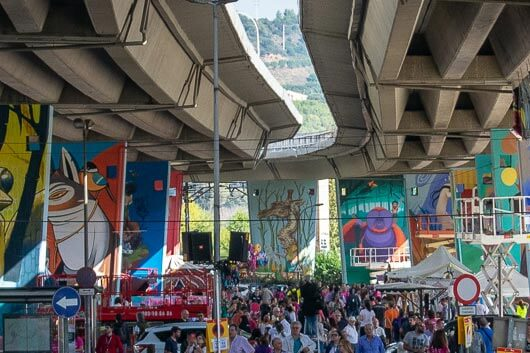 MIRA'MIR FESTIVAL TRANSFORMS CONCRETE INTO A JUNGLE