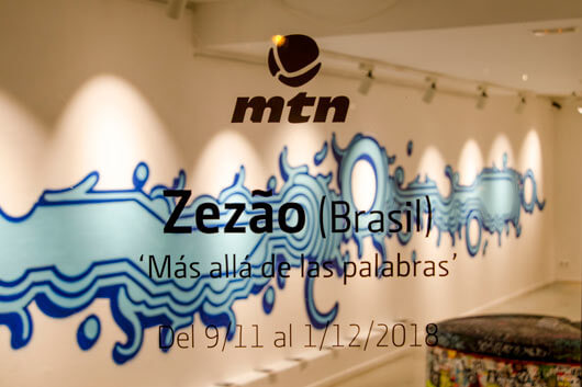 ZEZÃO COMES INTO THE LIGHT AT MONTANA GALLERY BARCELONA