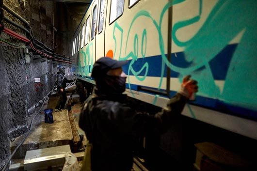 """EL GRAFFITI EN EL METRO, PORTADA DE """"EL PAÍS SEMANAL"""" (MÁS FOTOS EXCLUSIVAS)"""