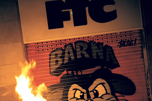 FTC BARCELONA: NEW SHOP, NEW SHUTTER