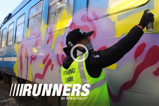 RUNNERS 14: TRAINS & SUBWAYS IN STOCKHOLM WITH OSIS