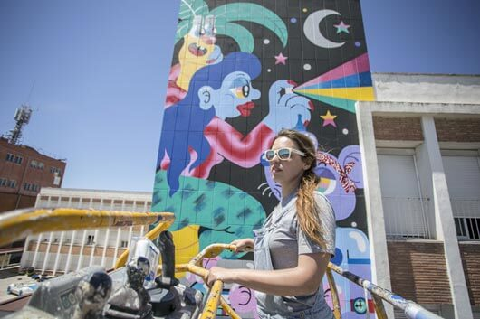 URBAN ART EXPLODES IN THE HEART OF MALLORCA