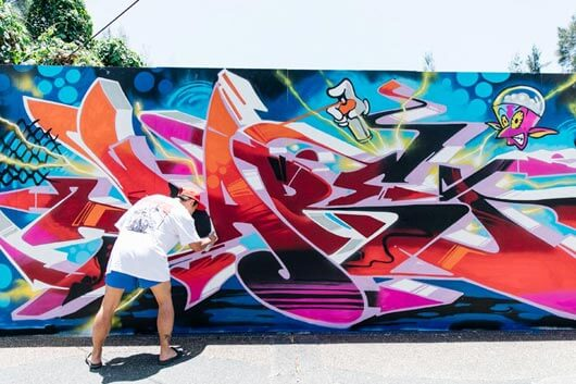 TREMENDA EXHIBICIÓN DE TAGS, THROW-UPS Y BURNERS EN TAIWÁN: ESTO ES EL WALL LORDS 2019