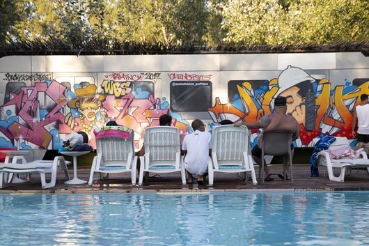 THE BACK TO THE STYLE ONCE AGAIN PROOVES THEMSELF TO BE ONE OF THE BEST GRAFFITI FESTIVALS IN EUROPE