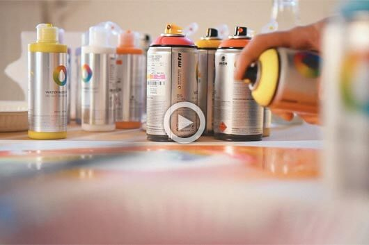 SPRAYDAILY TAKES US TO THE STUDIOS OF THE GRAFFITI ARTISTS!