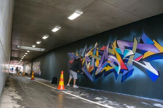 TALLIN: DESDE WILDSTYLE HASTA GRAFFITI ABSTRACTO