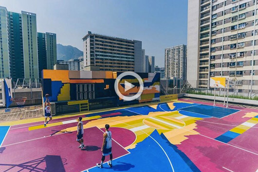 THE INCREDIBLE BASKETBALL COURT OF XEME