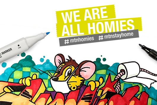 INTERNATIONAL SKETCH CONTEST 'WE ARE ALL HOMIES!'