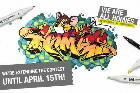 "WE'RE EXTENDING THE DEADLINE FOR THE ""WE ARE ALL HOMIES"" CONTEST"