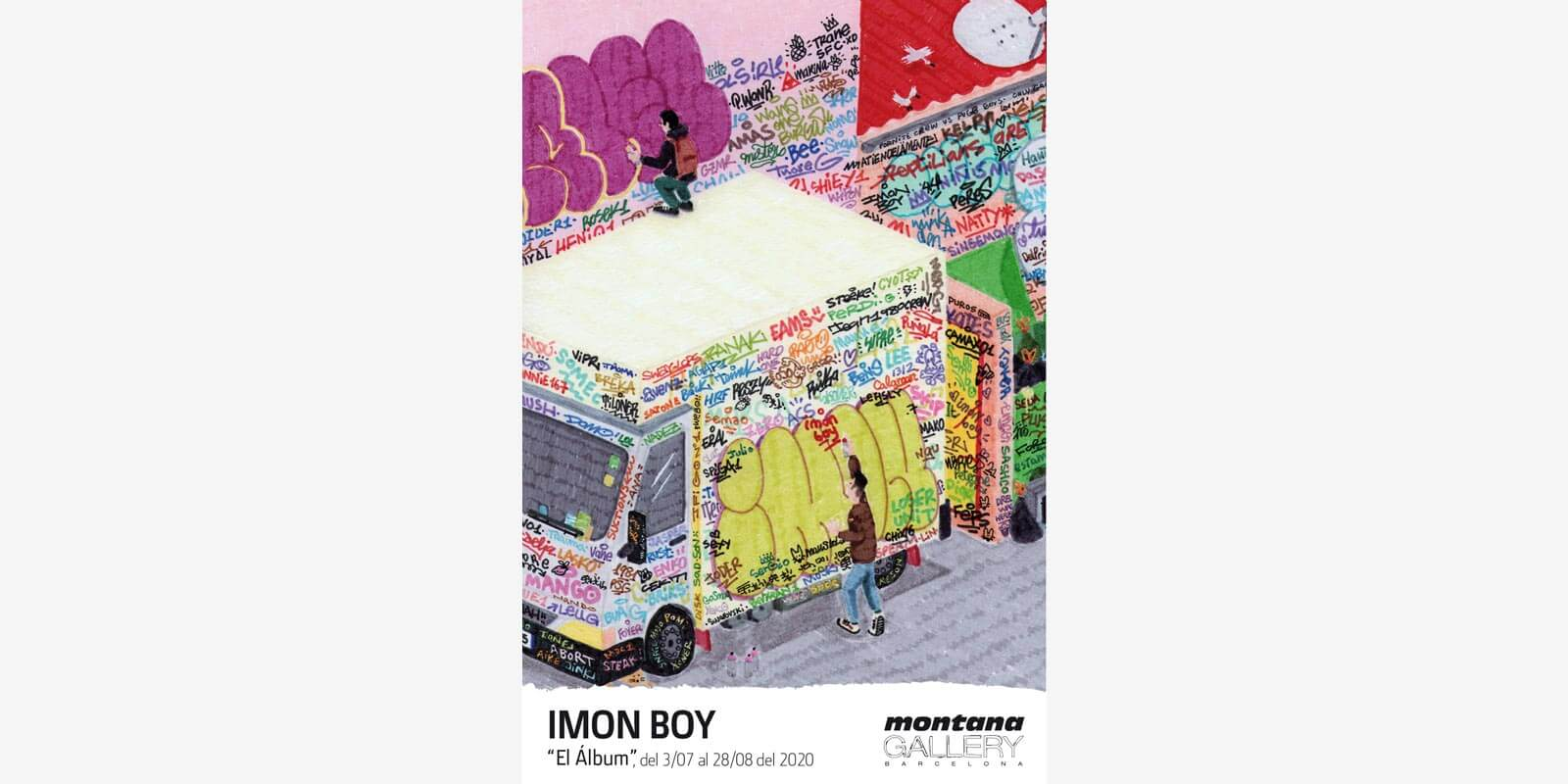 IMON BOY AT MONTANA GALLERY BARCELONA