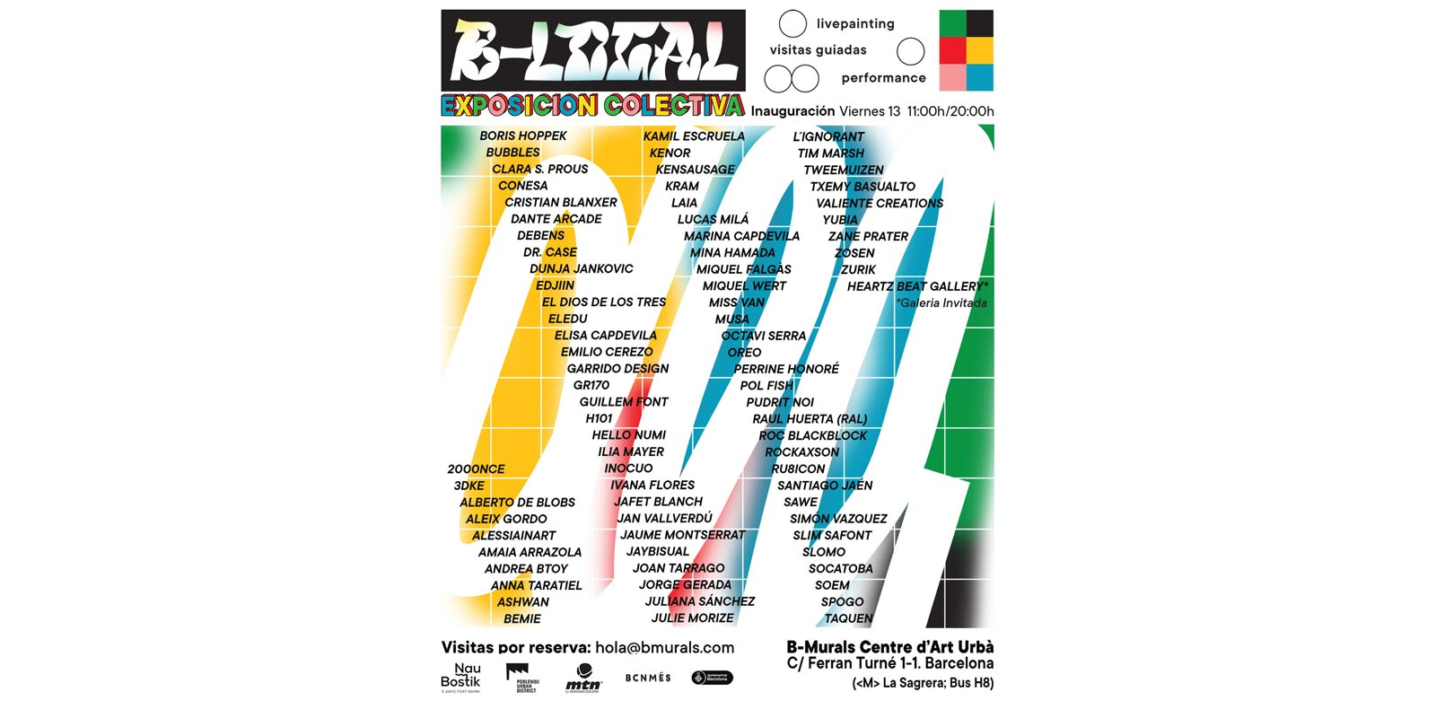 B-LOCAL GROUP SHOW OPENS