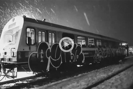 THROW-UPS ON TRAINS IN SOUTHERN GERMANY