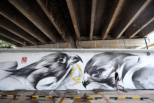 SATR, BETWEEN CHINESE ARTISTIC TRADITION AND URBAN ART